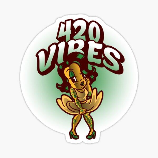 420 Lady's Merchandise Sticker