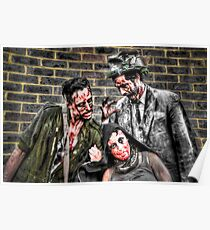 Three Zombies Poster