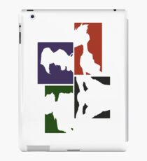 Cowboy Bebop Colored Panels iPad Case/Skin
