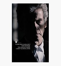 Twelve Doctor Who (3) {CASES, PILLOWS,ETC} Photographic Print