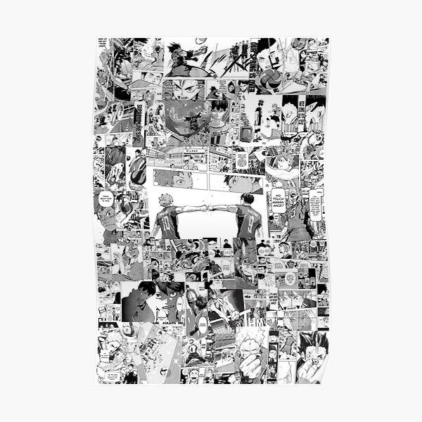 Haikyuu! Manga Collage V2 Poster