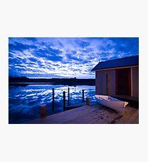 Lake House Photographic Print