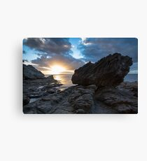 King Fisher's Rock Canvas Print