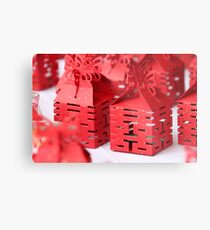 Chinese character LOVE & HAPPINESS Metal Print