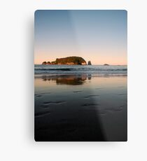 Hahei Beach - Sunset Metal Print
