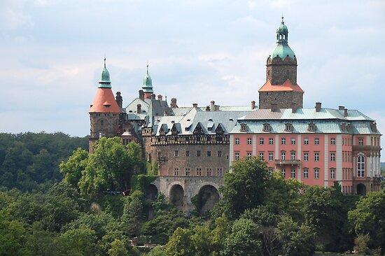 """Ksiaz Castle, Poland"" By Geoffrey Grinton"