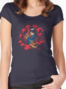 Help Fight Heroism! Women's Fitted Scoop T-Shirt