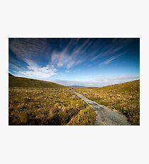 Tongariro Crossing - Path Photographic Print