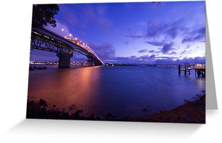 Auckland Harbour Bridge by Brian Lai