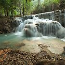 Kuang Si Falls - Laos by Brian Lai