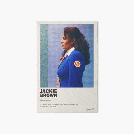 Jackie Brown Art Board Print