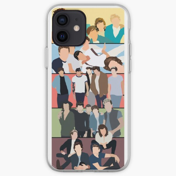 Portadas de álbumes One Direction Funda blanda para iPhone