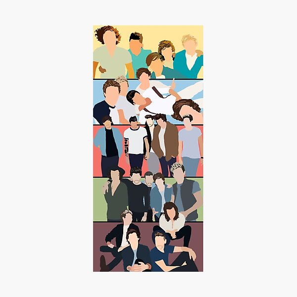 One Direction Album Covers Photographic Print
