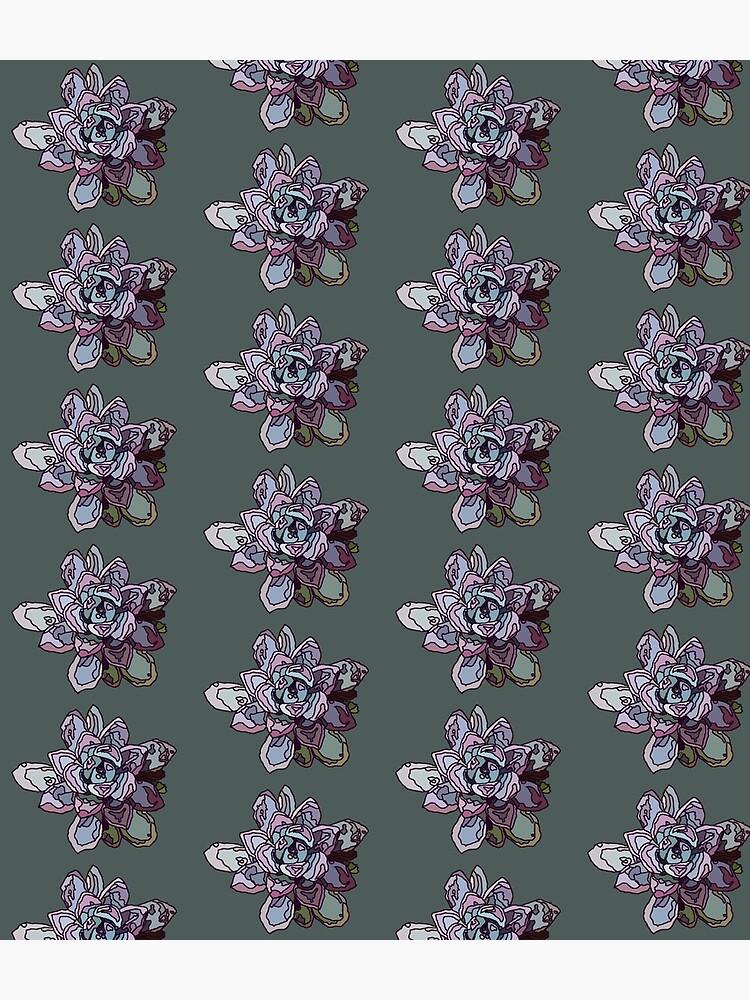 Stained Glass Succulent Rosette by nikoluke
