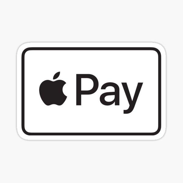 apple pay logo sticker Sticker