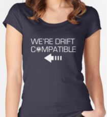 We're Drift Compatible Women's Fitted Scoop T-Shirt