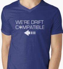 We're Drift Compatible Men's V-Neck T-Shirt