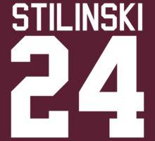 Stiles Stilinski's Jersey - white text | Women's T-Shirt