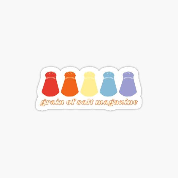 *small sticker* colorful shakers Sticker