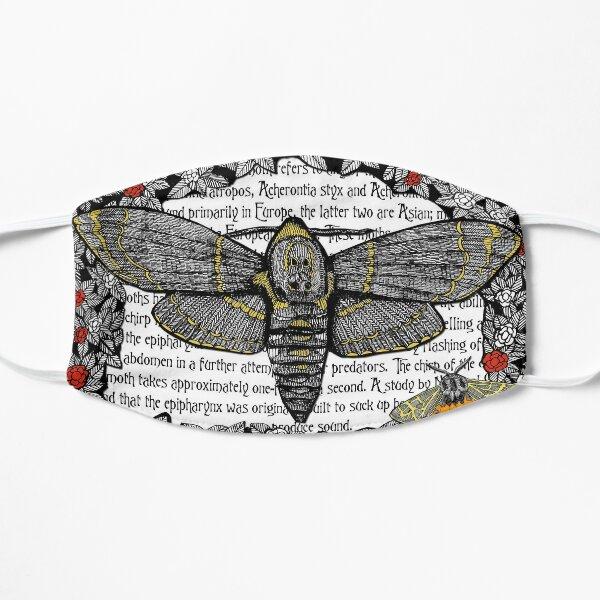 Deaths head Moth Face Mask Mask