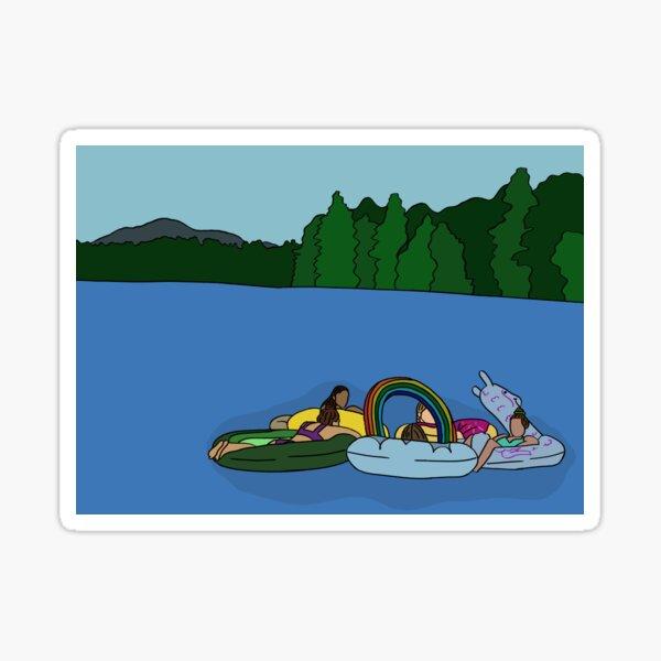 FDL lake Sticker