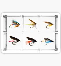 Fly Fishing Lure Sticker