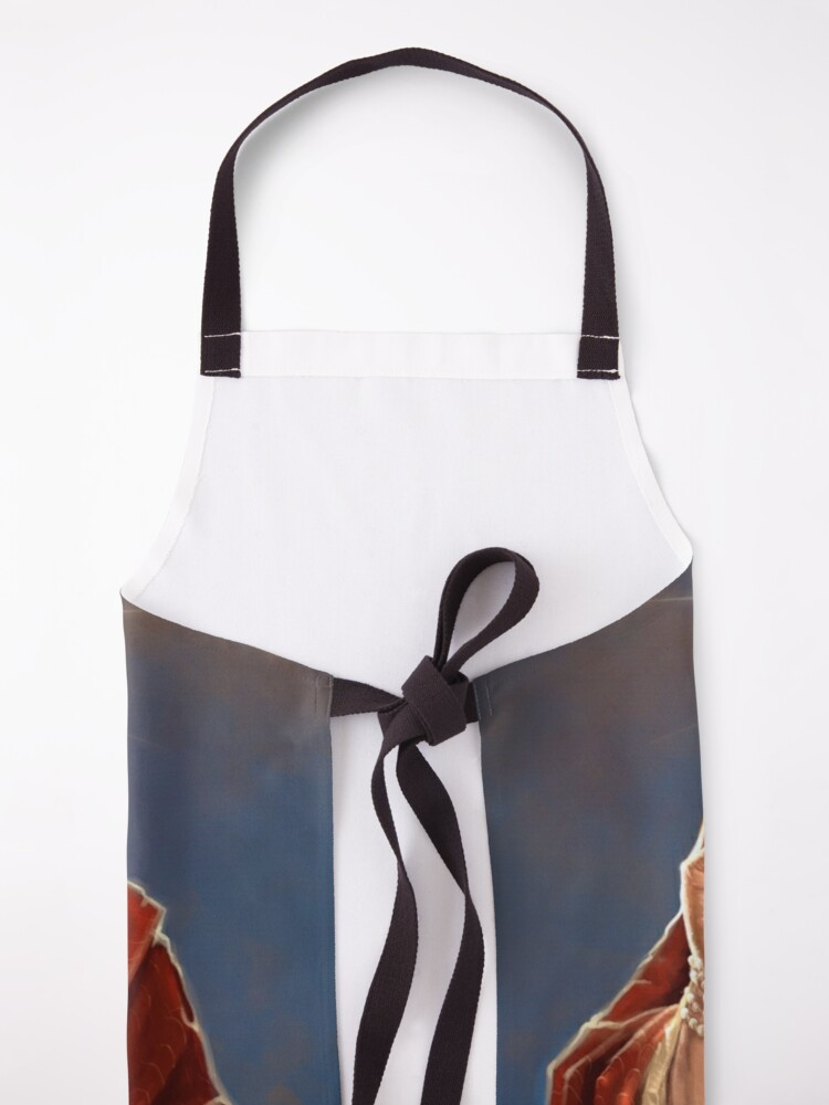 Alternate view of Saint Jeff of Goldblum - Jeff Goldblum Original Religious Painting Apron