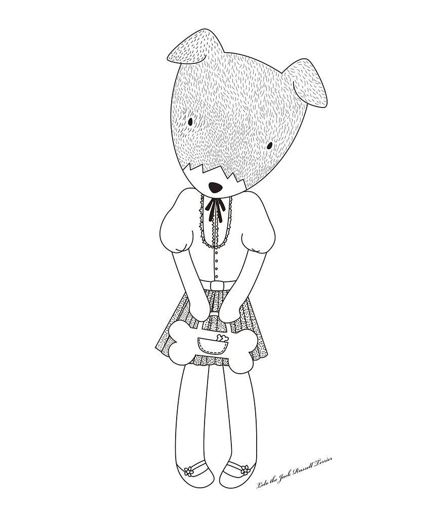 Lolo the Jack Russell Terrier by miseyu