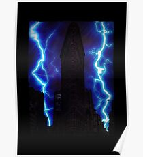 Stormy Flatiron Building, New York Poster