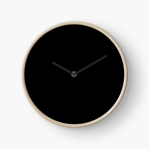 Black is the most beautiful color Horloge