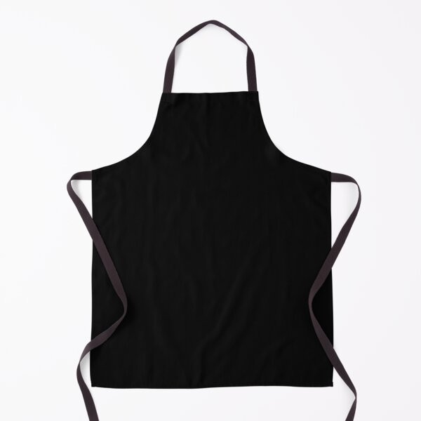 Black is the most beautiful color Apron