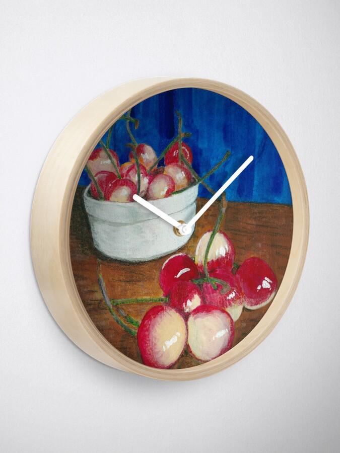 Alternate view of Cherries, Jubilant Clock