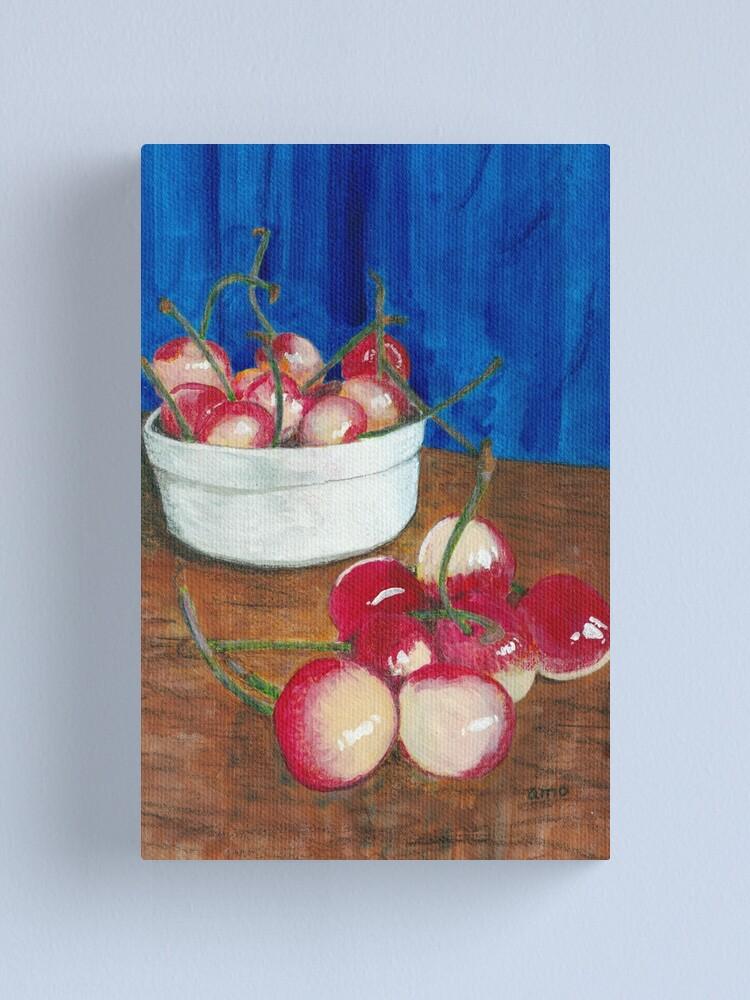 Alternate view of Cherries, Jubilant Canvas Print