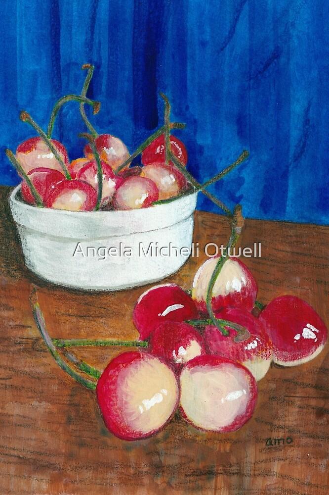 Cherries, Jubilant by Angela Micheli Otwell