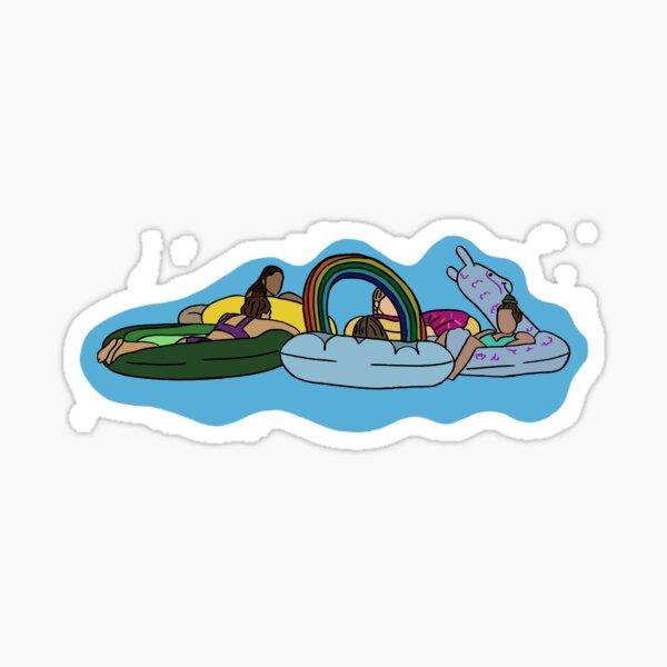 FDL floaties Sticker
