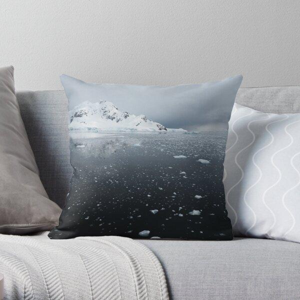 Ice Paradise Throw Pillow
