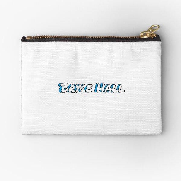 Diseño de sombra de nombre Bryce Hall - azul Bolsos de mano