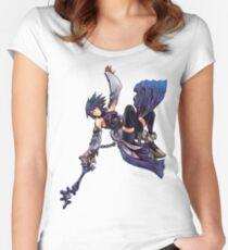Aqua - Night Sky Edit Women's Fitted Scoop T-Shirt
