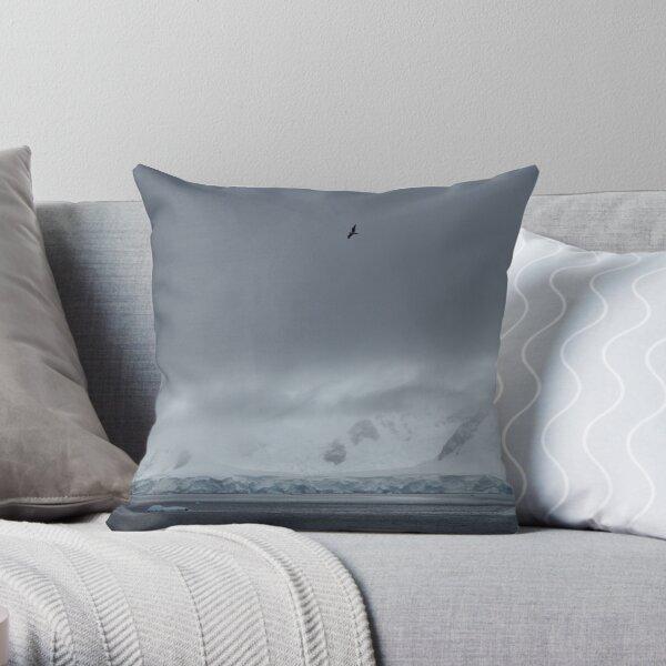 Soaring Far Above Throw Pillow