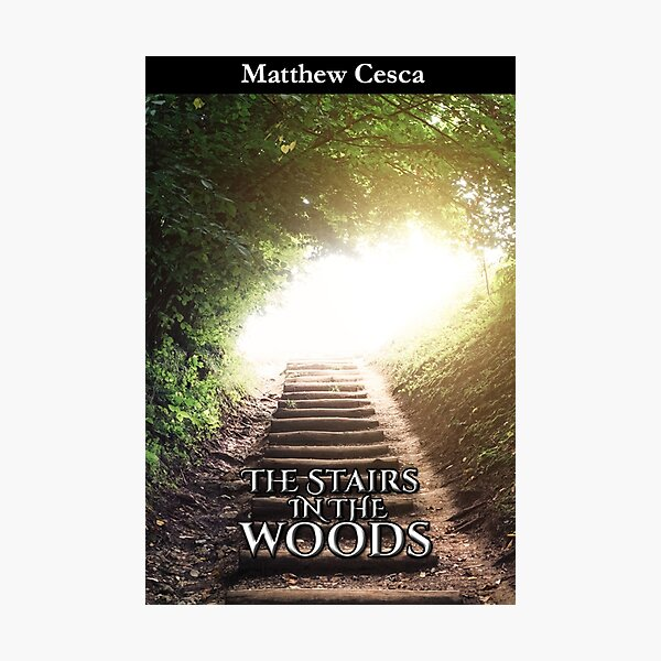 The Stairs in the Woods Cover Photographic Print