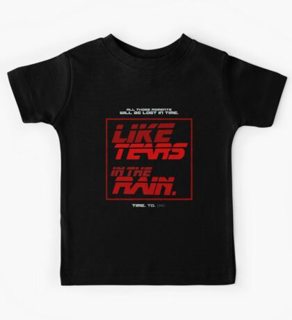 Tears in the Rain Kids Clothes