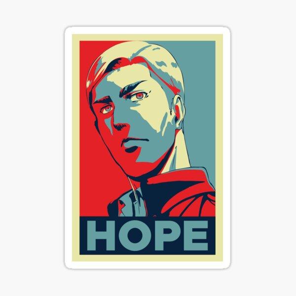 Attaque sur Titan Erwin Smith - Hope Sticker