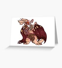 plague momma Greeting Card
