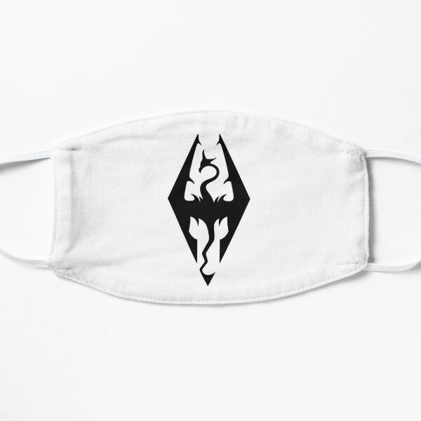 The Empire Logo (Black) Flat Mask