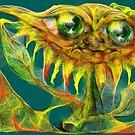 Magical sunflower by Gili Orr
