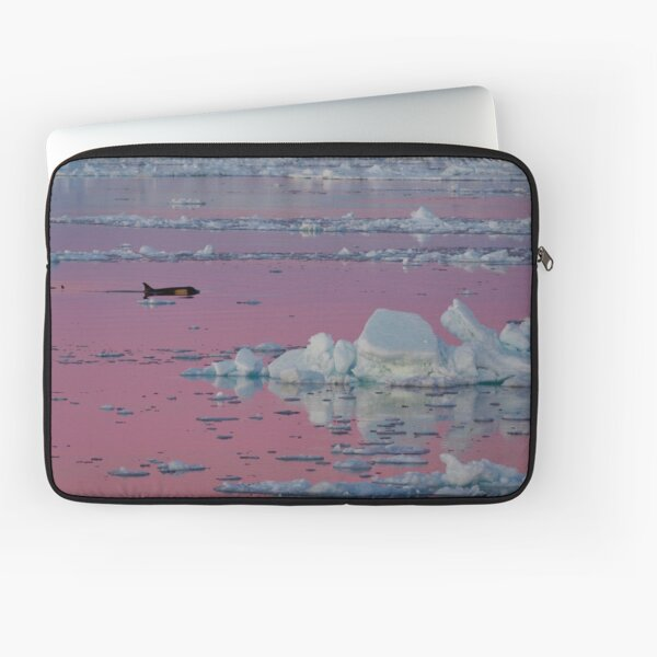 Orca Sunset Laptop Sleeve