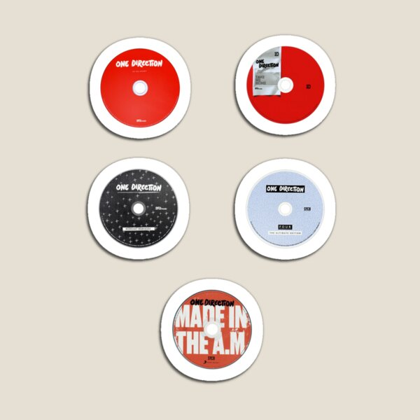 1D Discography Pack Magnet