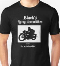 Black's Flying Motorbikes Unisex T-Shirt