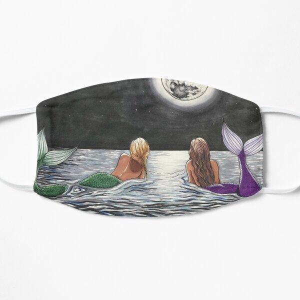 Mermaid Moon Flat Mask
