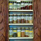My Spice Cabinet by Heather Friedman